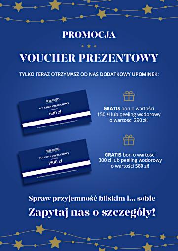 Promocja - voucher prezentowy na zabiegi z zakresu dermatologii estetycznej